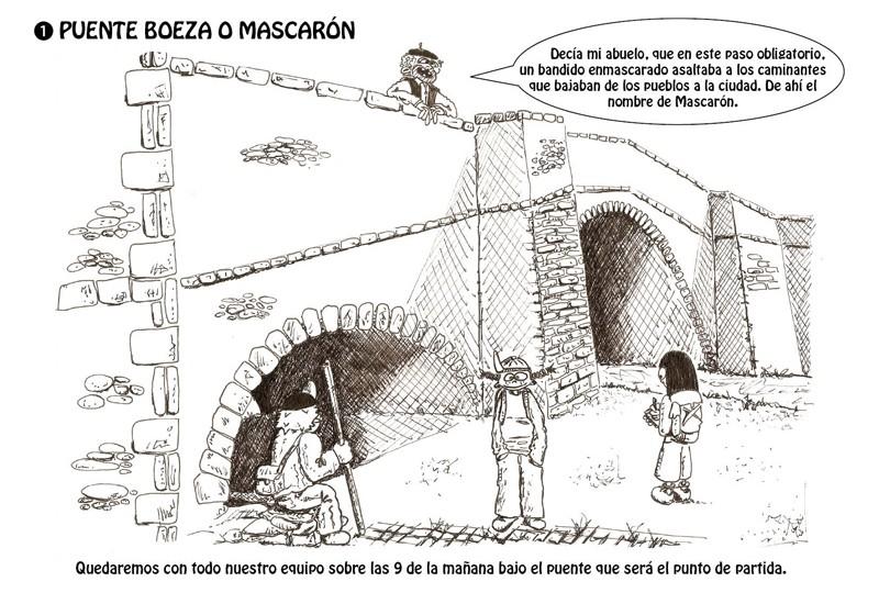 Puente Boeza o Mascarón