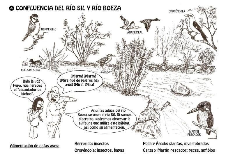 Confluencia de los ríos Sil y Boeza